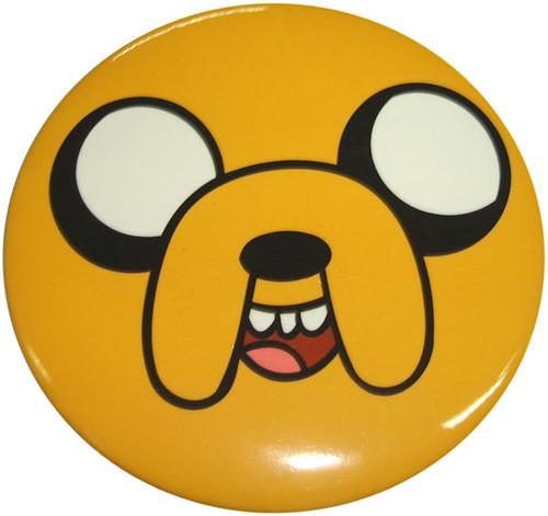 Adventure Time Jake Face Button