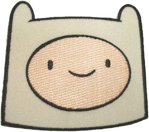 Adventure Time Finn Head Patch