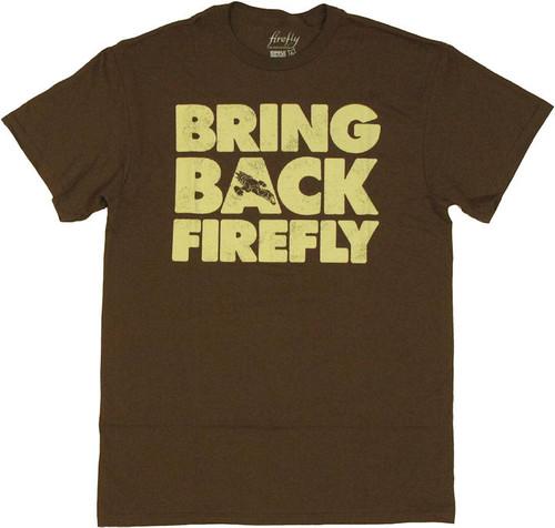 Firefly Bring Back T Shirt