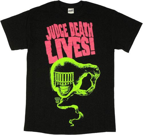Judge Dredd Death Lives T Shirt