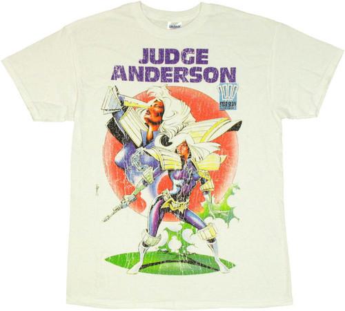 Judge Dredd Judge Anderson T Shirt