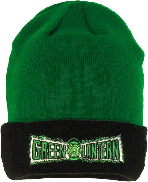 Green Lantern Flip Up Beanie