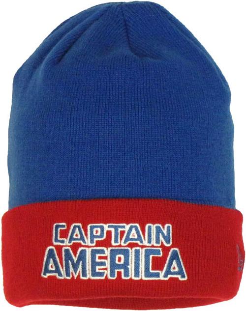 da0c4043aa5c1 Captain America Flip Up Beanie