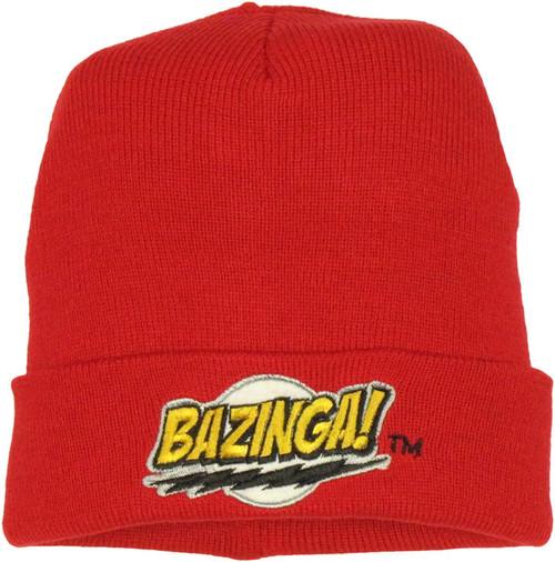 Big Bang Theory Bazinga Beanie