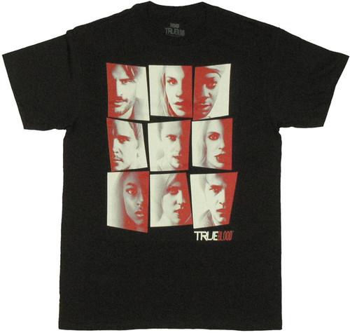 True Blood Faces T Shirt