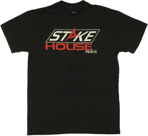 True Blood Stake House Logo T Shirt