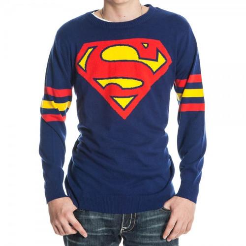 Superman Logo Sweater