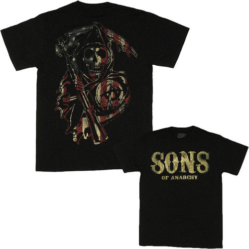Sons of Anarchy American Reaper T Shirt