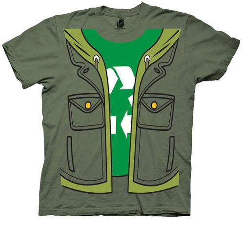 Big Bang Theory Leonard Costume T Shirt