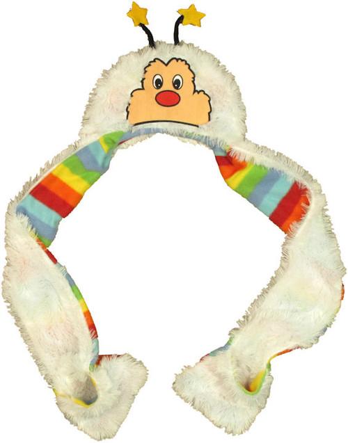 Rainbow Brite Twink Furry Snood Beanie