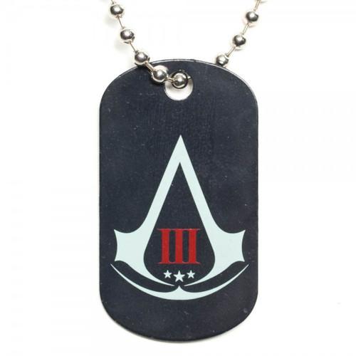 Assassins Creed 3 Logo Dog Tag