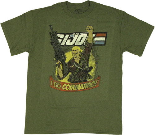 GI Joe I Go Commando T Shirt