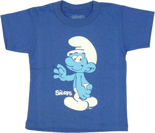 Smurfs Wave Toddler T Shirt