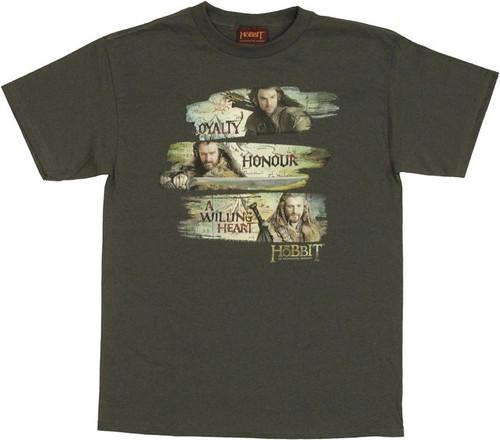 Hobbit Dwarven Traits T Shirt
