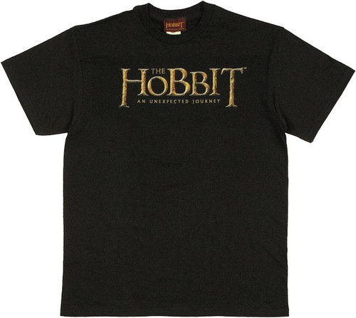 Hobbit Unexpected Journey Logo T Shirt