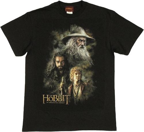 Hobbit Trio Painting T Shirt