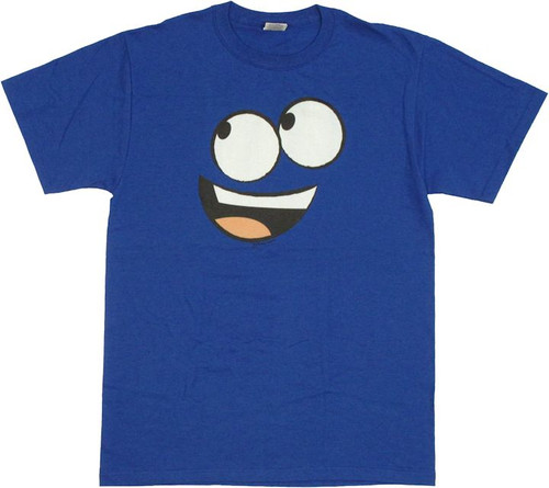Fosters Home Bloo Face T Shirt
