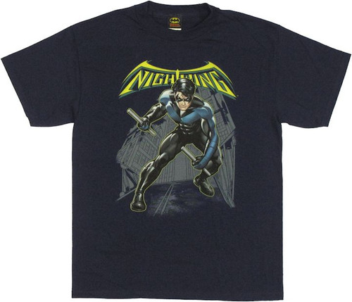 Nightwing Under Logo T Shirt