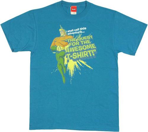Aquaman Quest T Shirt