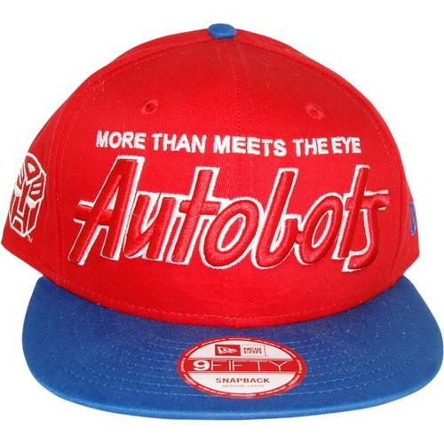Transformers Slogan Autobot Hat