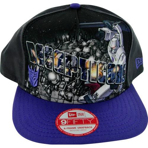Transformers Decepticon Poster Hat