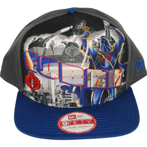 GI Joe Cobra Poster Hat