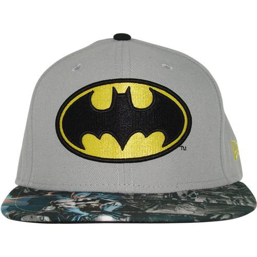Batman Comic Visor 59Fifty Hat