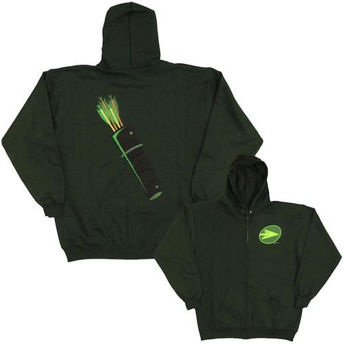 Green Arrow Quiver Hoodie