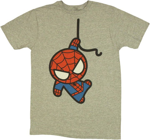 Spiderman Toy Hang T Shirt Sheer