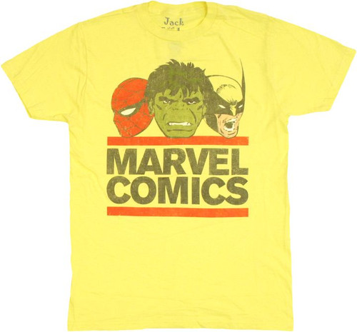 Marvel DMC Logo T Shirt Sheer