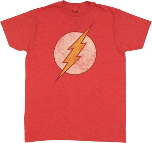 Flash Vintage Logo T Shirt Sheer