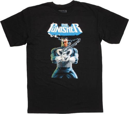 Punisher Smoking Gun T Shirt