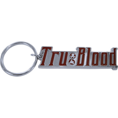 True Blood Drink Label Keychain