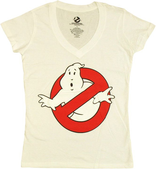 Ghostbusters V Neck Baby Tee
