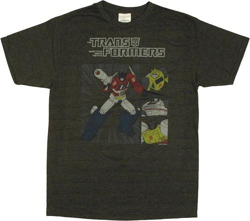 Transformers Autobot Boxes T Shirt Sheer