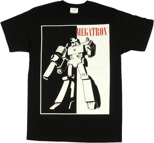Transformers Megatron Silhouette T Shirt Sheer