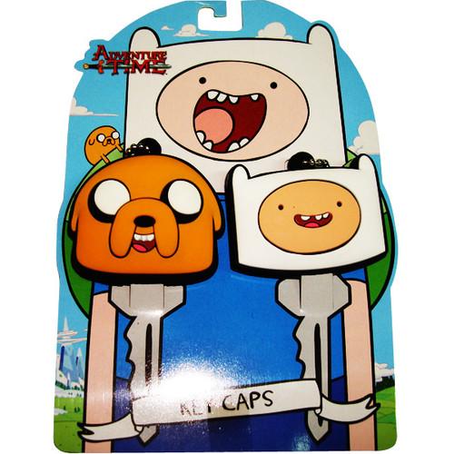 Adventure Time Key Cap Keychain Set