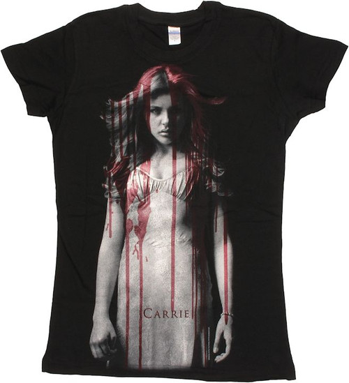 Carrie Blood Drips Baby Tee