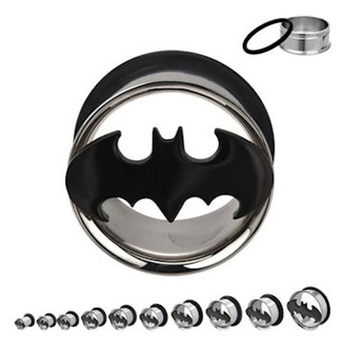 Batman Die Cut Steel Plugs