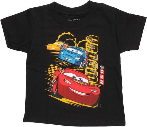 Cars Vroom Trio Toddler T Shirt