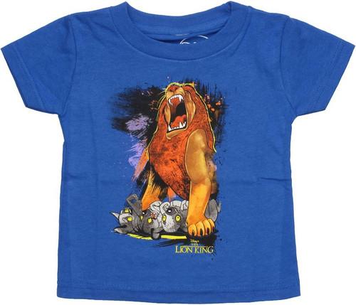 Lion King Mufasa Hyenas Infant T Shirt