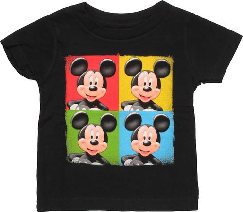 Mickey Mouse Color Quadrants Infant T Shirt