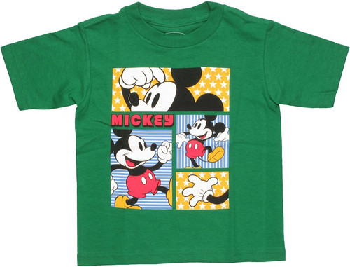 Mickey Mouse Happy Panels Toddler T Shirt