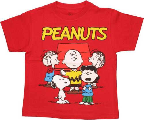 Peanuts Group Juvenile T Shirt