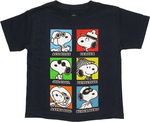 b9fd31a01 Peanuts Snoopy Careers Juvenile T Shirt