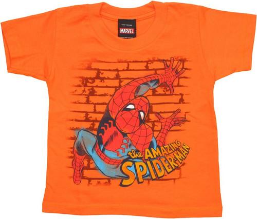 Spiderman Wall Crawler Toddler T Shirt