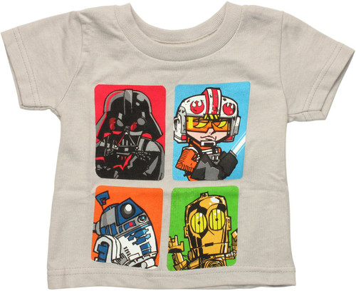 Star Wars Boxed Toons Infant T Shirt