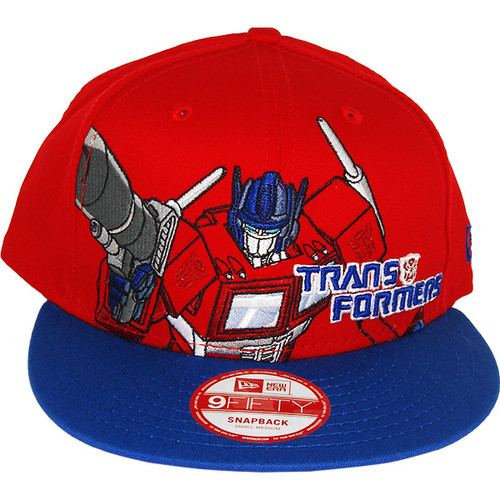 Transformers Optimus Prime Portrait Hat