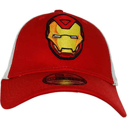 Iron Man Character Mesh 39THIRTY Hat a1a5dc63ed7e