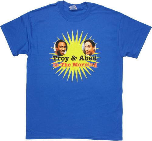 Community Troy Abed Morning T Shirt